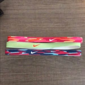 Set of 3 Nike headbands